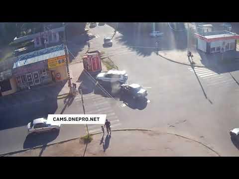 ДТП в Днепропетровске на улице Конституции