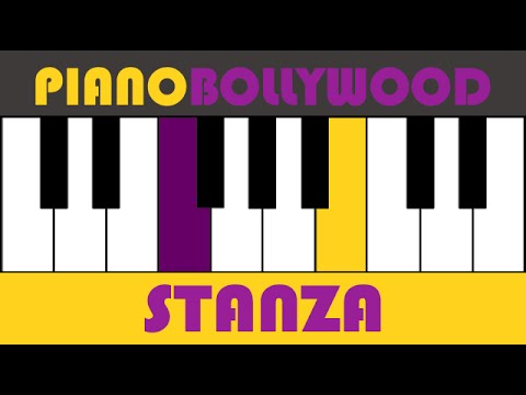 Video Tere Mast Mast Do Nain - Easy PIANO TUTORIAL - Stanza [Both Hands] download in MP3, 3GP, MP4, WEBM, AVI, FLV January 2017