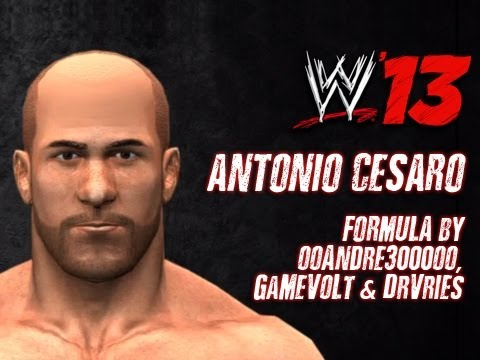 CAW - WWE '13 Antonio Cesaro CAW Formula by ooAndre3000oo, GaMeVoLt & DrVries Download Details: http://caws.smacktalks.org/wwe13/110/antonio-cesaro-caw Community S...