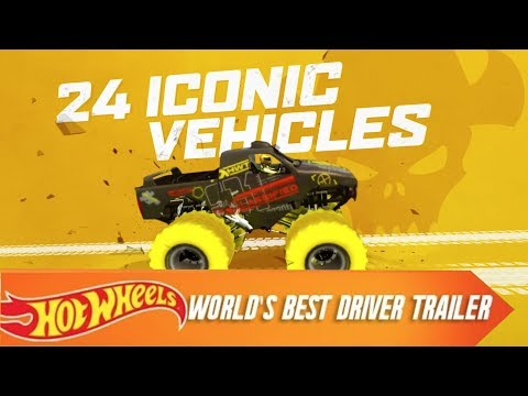 Hot Wheels World's Best Driver: The Video Game Launch Trailer   Hot Wheels