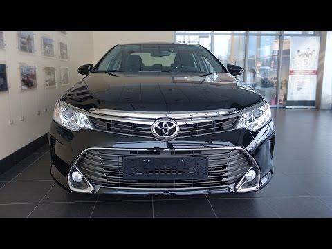 Toyota Camry рестайлинг 2014 - LIVE обзор!