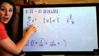 Infinite Series Example 1
