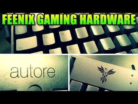 Feenix Gaming Mouse, Keyboard, Mouse Pad Review (Nascita, Autore, Dimora)