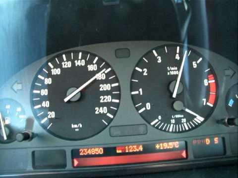 BMW 740i 0-200