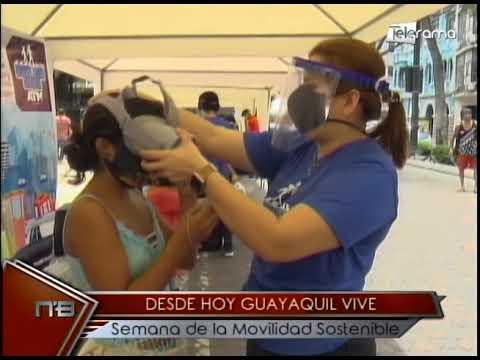 Desde hoy Guayaquil vive semana de la movilidad sostenible