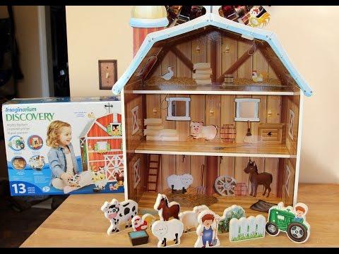 Imaginarium MIGHTY BIG BARN - Toys R Us - Farm Animals or Dolls 👩