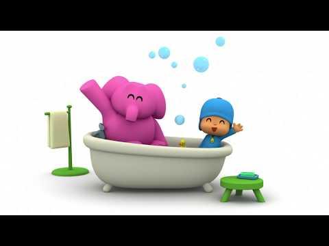 Let's Go Pocoyo- El baño de Elly (S03E16)