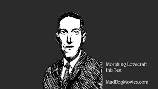 Morphing Lovecraft Portrait
