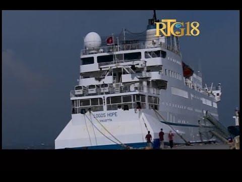 Haïti.- Arrivée du navire Logos Hope à Port-au-Prince