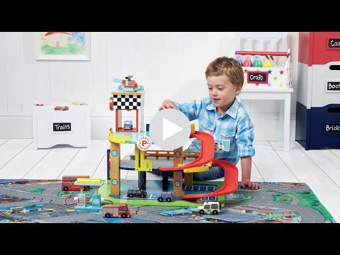 GLTC Toy Garage