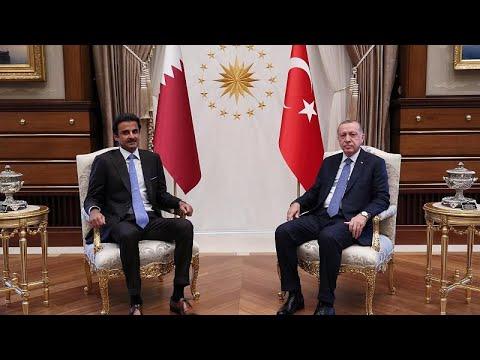 Με βοήθεια από το Κατάρ και όχι προσφυγή στο ΔΝΤ «σώζει» ο Ερντογάν την οικονομία…