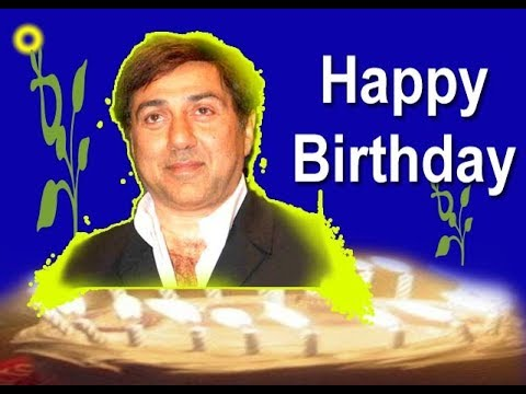 Happy birthday quotes - Sunny Deol  Happy Birthday Status  Best Wishes  Greetings  Quotes  SMS