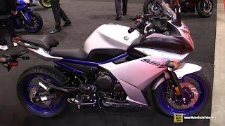 8. 2017 Yamaha FZ6R  -Walkaround - 2017 Toronto Motorcycle Show