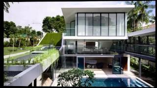 Архитектура дома MacRitchie от студии A-Dlab
