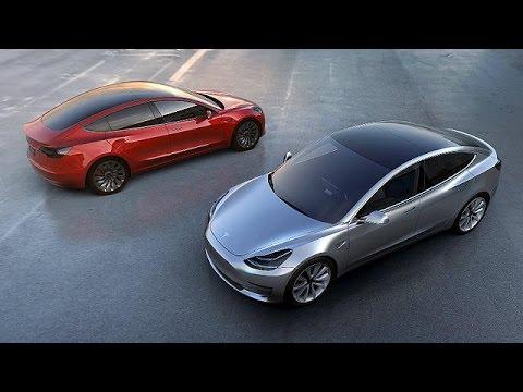 Tesla : les commandes de la Model 3 s'envolent - economy
