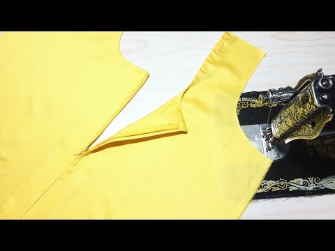Attach Invisible Zip In Kameez/kurti And Blouse