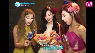 '엠카 비하인드' 소녀시대 태티서 & 인피니트