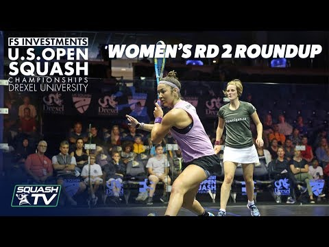 Squash: Women's Rd 2 Roundup - US Open 2018