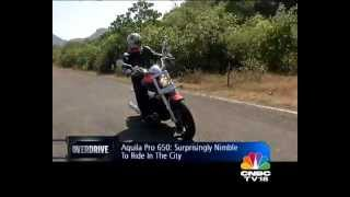 5. 2013 Hyosung Aquila Pro in India road test