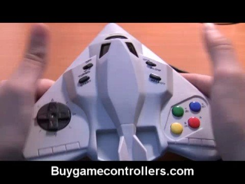 Beeshu Jet Fighter SNES Controller