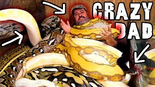 Surprise Father's Day Channel Takeover: My Crazy Dad by Prehistoric Pets TV