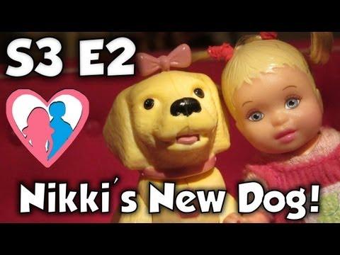 "S3 E2 ""Nikki's New Dog"" | The Barbie Happy Family Show"