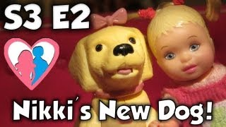 "The Barbie Happy Family Show S3 E2 ""Nikki's New Dog"" 50,000 Subscriber Special!!!"