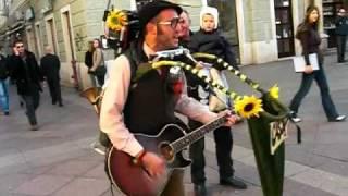 Amazing One-Man-Band Street Performer in Croatia