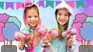 Video A Toy Spy Cotton Candy Cuties Party! MP3, 3GP, MP4, WEBM, AVI, FLV Juni 2019