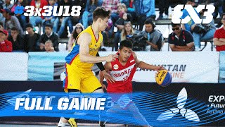 Watch the full game of Romania vs Indonesia from day 1 of the 2016 FIBA 3x3 U18 World Championships. All videos can be found at: http://bit.do/3x3U18-2016 ...