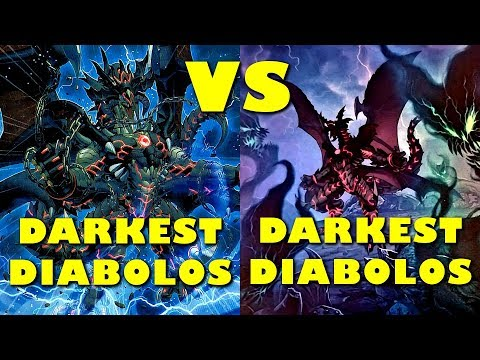 Real Life Yugioh - DARKEST DIABOLOS vs DARKEST DIABOLOS | May 2018 Scrub League (видео)