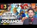 Jogamos Super Smash Bros Ultimate