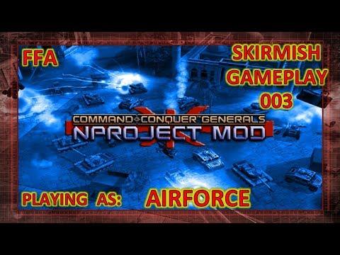 NProject Skirmish 003 - AirForce - FFA - Moutain Mayhem (видео)