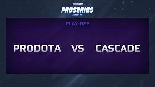 ProDota Gaming vs Cascade eSports, Game 1, proseries