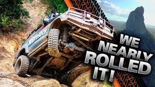 Video AUSTRALIA'S TOUGHEST TRACKS! HUGE wheel lifts, INSANE near 4WD rollover in the Glasshouse Mountains! MP3, 3GP, MP4, WEBM, AVI, FLV April 2019