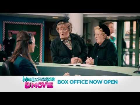 Mrs. Brown's Boys D'Movie TV SPOT - D'Mother (2014) - Brendan O'Carroll Comedy HD
