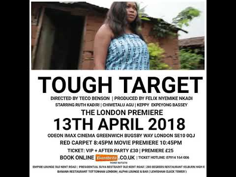 Tough Target Trailer. London premiere - powered by Danny promotional Media