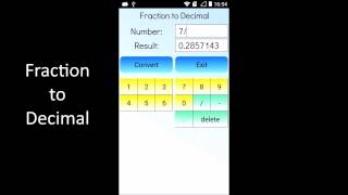 Fraction to Decimal YouTube video