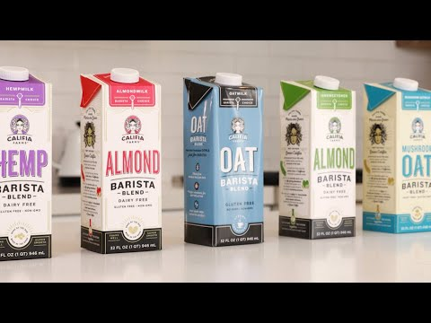 Unsweetened Barista Blend Almondmilk Video