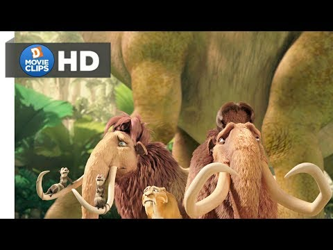 Ice Age 3 Hindi (07/18) Going To Rescue Sid scene movieClips