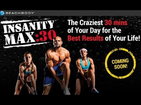 Insanity Max 30 Preview – NEW WORKOUT from Shaun T and Beachbody