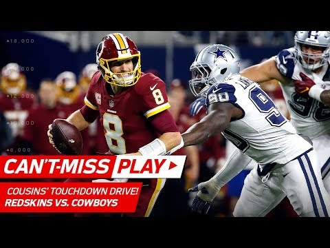 Video: Kirk Cousins Makes CRAZY Plays on TD Drive Before the Half! | Can't-Miss Play | NFL Wk 13 Highlights
