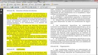 Umh0455 2013-14 Lec001 El Sistema Escolar Español. Tipología De Centros Escolares. Parte 035 EOI
