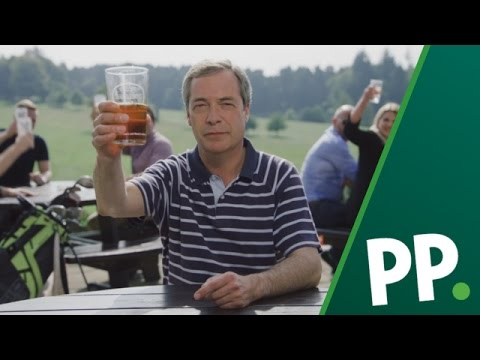 Nigel Farage Swings for Europe this Ryder Cup