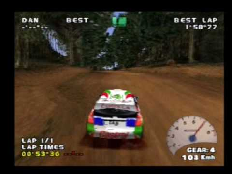 v rally playstation 2