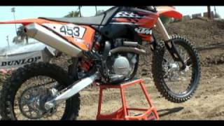 4. 2010 KTM 450 SX-F First Impression Video