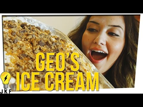 Cooking With JK: Geo Antoinette's Ice Cream Sandwich Cake
