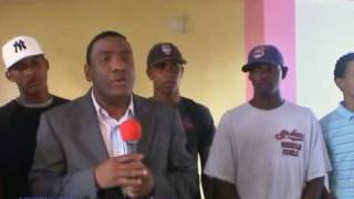 CPF on Yoryi Castillo show in Dominican Republic Dec 2008 Part 1