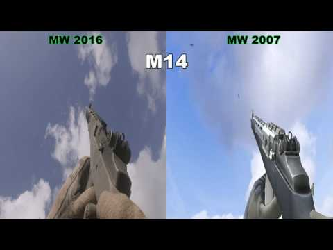 COD MW Vs COD MWR - Graphic, Audio And Animations Comparison 1440p 60fps PC ULTRA