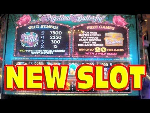 Mystical Butterfly NEW SLOT MACHINE Las Vegas Slots Win